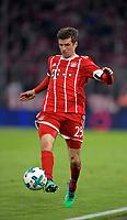 31.03.2018, Football 1. Bundesliga 2017/2018, 28.  match day, FC Bayern Muenchen - Borussia Dortmund, in Allianz-Arena Muenchen. Thomas Mueller (FC Bayern Muenchen) . *** Local Caption *** © pixathlon