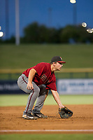 AZL Diamondbacks Buddy Kennedy (43) on defense against the AZL Cubs on August 11, 2017 at Sloan Park in Mesa, Arizona. AZL Cubs defeated the AZL Diamondbacks 7-3. (Zachary Lucy/Four Seam Images)