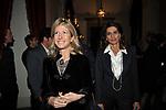 """ANASTASIA PAGLIE CON ALESSANDRA FRACASSI<br /> PRESENTAZIONE LIBRO """" I ROCCALTA"""" DI EDVIGE SPAGNA<br /> PALAZZO TAVERNA ROMA 2008"""