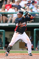 March 23rd 2008:  Gregor Blanco of the Atlanta Braves during a Spring Training game at Osceola County Stadium in Kissimmee, FL.  Photo by:  Mike Janes/Four Seam Images