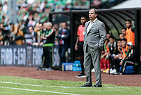 Mexico City, Mexico - Sunday June 11, 2017: Bruce Arena during a 2018 FIFA World Cup Qualifying Final Round match with both men's national teams of the United States (USA) and Mexico (MEX) playing to a 1-1 draw at Azteca Stadium.