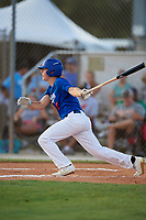 Lane Forsythe during the WWBA World Championship at the Roger Dean Complex on October 18, 2018 in Jupiter, Florida.  Lane Forsythe is a shortstop from Humboldt, Tennessee who attends Trinity Christian Academy and is committed to Mississippi State.  (Mike Janes/Four Seam Images)