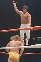 Ricky Steamboat  Randy Macho Man Savage1986                                                           By John Barrett/PHOTOlink
