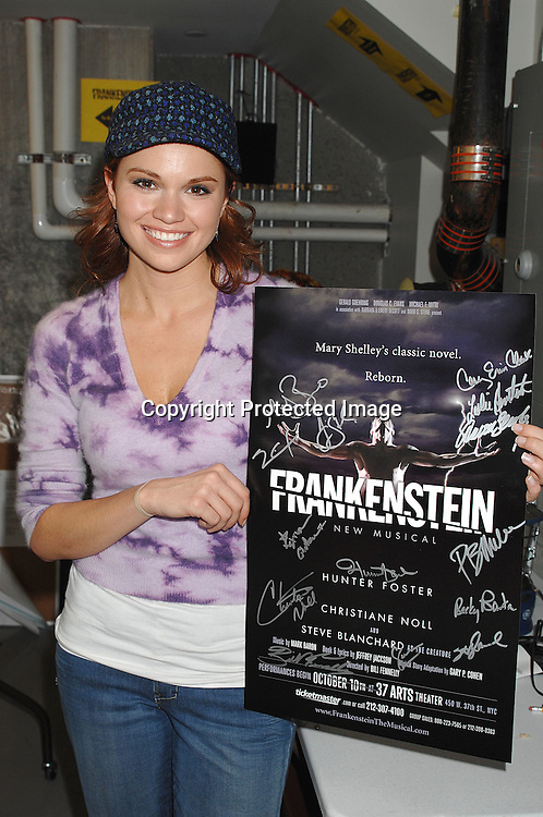 """Mandy Bruno ..at a press preview of """"Frankenstein"""" on October 4, 2007 ..at 37 Arts in New York City. ....Robin Platzer, Twin Images....212-935-0770"""
