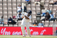 Rishabh Pant, India drives to long on for four runs during India vs New Zealand, ICC World Test Championship Final Cricket at The Hampshire Bowl on 23rd June 2021