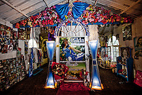 The shrine to Gilda is located at km 129 of National Route 12, on the way to Chajari, in Entre Rios. The shrine was built on the site of the accident. Her followers leave messages, photos and objects to thank her for granting their wishes.?