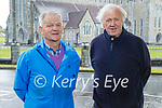 Enjoying a stroll in the Killarney National park on Sunday, l to r: John O'Sullivan and William Herlihy.
