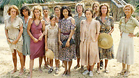 BNPS.co.uk (01202) 558833<br /> Pic: BBC<br /> <br /> PICTURED: BBC Drama Tenko - Mrs Grist was held in an all-female camp at Changi. The plight of British civilian women in internment camps was dramatised in the eighties  BBC TV series Tenko. <br /> <br /> Paintings secretly produced by a British woman inside a hellish Japanese prisoner of war camp using brushes made from human hair have come to light.<br /> <br /> Isobel Grist depicted scenes of camp life while she and her husband Donald spent three years imprisoned at the notorious Changi PoW camp in Singapore.<br /> <br /> The talented artist had grabbed her paints just as the couple were marched off to the camp following the fall of Singapore in 1942.