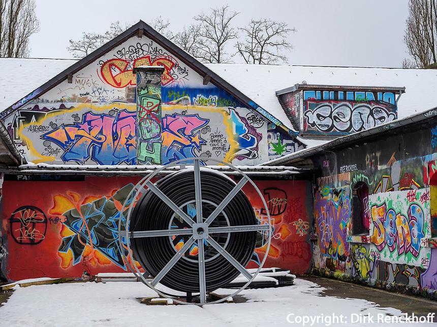 Skatepark Hollerich, Rue de l'Abattoir, Graffiti, Luxemburg-City, Luxemburg, Europa<br /> Skatepark Hollerich, Rue de l'Abattoir, Graffiti, Luxembourg City, Europe
