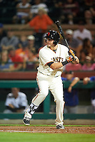 Scottsdale Scorpions Ryder Jones (32), of the San Francisco Giants organization, during a game against the Salt River Rafters on October 12, 2016 at Scottsdale Stadium in Scottsdale, Arizona.  Salt River defeated Scottsdale 6-4.  (Mike Janes/Four Seam Images)