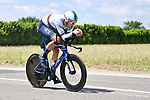 World Champion Filippo Ganna (ITA) Ineos Grenadiers in action during Stage 21 of the 2021 Giro d'Italia, an individual time trial running 30.3km from Senago to Milan, Italy. 30th May 2021.  <br /> Picture: LaPresse/Fabio Ferrari   Cyclefile<br /> <br /> All photos usage must carry mandatory copyright credit (© Cyclefile   LaPresse/Fabio Ferrari)
