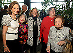 From left: Carine Gendebien, Laure Wittner, Pepi Nichols, Geri Joscowitz and Louise Joskowitz at the Holocaust Museum Houston's Guardian of the Human Spirit Luncheon at the Hilton Americas Hotel Monday Nov.18, 2013. (Dave Rossman photo)