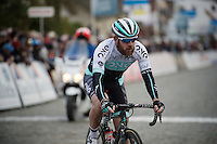 a bearded Matthew Goss (AUS/One) abandons on the last local lap<br /> <br /> 71st Nokere Koerse