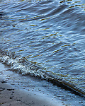 May 4, 2018. Fayetteville, North Carolina.<br /> <br /> Waves wash up at the William O Huske Dam on the Cape Fear River, which is just downstream from the Chemours plant that has been dumping GenX into the Cape Fear River or years. <br /> <br /> The Chemours Company, a spin off from DuPont, manufactures many chemicals at its plant in Fayetteville, NC. One of these, commonly referred to as GenX, is part of the process of teflon manufacturing. Chemours has been accused of dumping large quantities of GenX into the Cape Fear River and polluting the water supply of city's down river and allowing GenX to leak into local aquifers.
