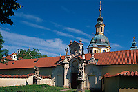Kirche Maria vom Berge, Prag, Tschechien, Unesco-Weltkulturerbe.