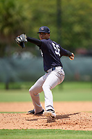 New York Yankees pitcher Alfred Vega (56) during an Extended Spring Training game against the Philadelphia Phillies on June 22, 2021 at the Carpenter Complex in Clearwater, Florida. (Mike Janes/Four Seam Images)