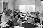 OFFICE WORK 1970S LONDON UK