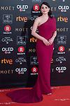 Andrea Duro attends red carpet of Goya Cinema Awards 2018 at Madrid Marriott Auditorium in Madrid , Spain. February 03, 2018. (ALTERPHOTOS/Borja B.Hojas)