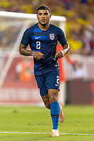 Tampa, FL - Thursday, October 11, 2018: DeAndre Yedlin during a USMNT match against Colombia.  Colombia defeated the USMNT 4-2.