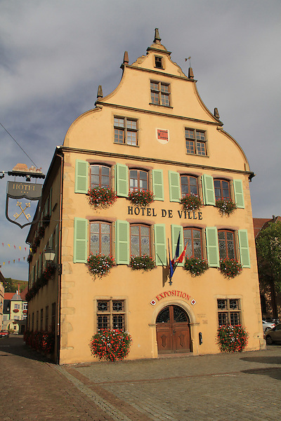 Hotel de Ville in Turckheim, Alsace, France