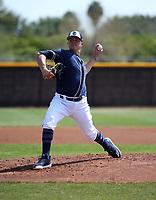 Adrian Morejon - San Diego Padres 2019 spring training (Bill Mitchell)