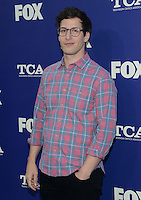 Andy Samberg @ the FOX summer TCA all star party held @ the Soho house.<br /> August 8, 2016