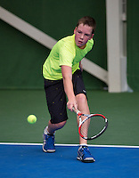 20131201,Netherlands, Almere,  National Tennis Center, Tennis, Winter Youth Circuit, Stijn Janssen  <br /> Photo: Henk Koster