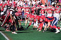 November 23, 2017:  Game action from the Brockton vs Bridgewater-Raynham Cape Cod Cafe Championship  varsity football game played at Bridgewater-Raynham High School, in Bridgewater,  Mass. Bridgewater-Raynham defeats Brockton 36-15. Eric Canha/BridgewaterSports.com