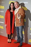 """Franck Dubosc et sa femme Daniele - Avant-premiËre du film """"Si j'etais un homme"""" au Cinema OpÈra - Paris, France - 21/02/2017"""