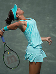 Madison Keys (USA) defeats Lauren Davis (USA) 6-2, 6-2