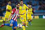 Atletico de Madrid's Juanfran Torres, UD Las Palmas Helder Lopes during the match of Copa del Rey between Atletico de Madrid and Las Palmas, at Vicente Calderon Stadium,  Madrid, Spain. January 10, 2017. (ALTERPHOTOS/Rodrigo Jimenez)
