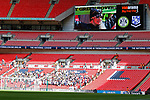 Tranmere Rovers 1 Forest Green Rovers 3, 14/05/2017. Wembley Stadium, Conference play off Final. The sparsely populated Forest Green end of Wembley stadium, during the Vanarama Conference play off Final  between Tranmere Rovers v Forest Green Rovers at the Wembley. Photo by Paul Thompson.