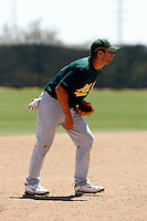 Michael Affronti - Oakland Athletics - 2009 spring training.Photo by:  Bill Mitchell/Four Seam Images