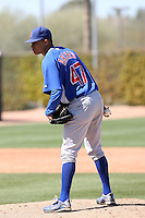 Chris Archer, Chicago Cubs 2010 minor league spring training..Photo by:  Bill Mitchell/Four Seam Images.