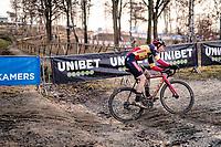 Belgian National CX Champion Laurens Sweeck (BEL/Pauwels Sauzen-Bingoal)<br /> <br /> 2021 GP Sven Nys in Baal (BEL)<br /> <br /> ©kramon
