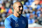 Nourredine Amrabat of CD Leganes reacts in training prior to the La Liga 2017-18 match between CD Leganes vs FC Barcelona at Estadio Municipal Butarque on November 18 2017 in Leganes, Spain. Photo by Diego Gonzalez / Power Sport Images