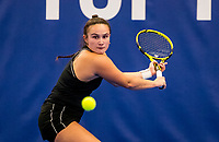 Amstelveen, Netherlands, 14  December, 2020, National Tennis Center, NTC, NK Indoor, National  Indoor Tennis Championships, Qualifying:   Gabriella Mujan (NED)<br /> Photo: Henk Koster/tennisimages.com