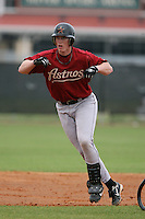 March 16th 2008:  Kevin Carkeek of the Houston Astros minor league system during Spring Training at Osceola County Complex in Kissimmee, FL.  Photo by:  Mike Janes/Four Seam Images
