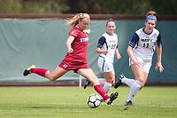 STANFORD, CA - September 3, 2017: Kyra Carusa at Cagan Stadium. Stanford defeated Navy 7-0.