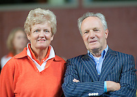 08-05-10, Tennis, Zoetermeer, Daviscup Nederland-Italie,Tom Okker and Betty Stove