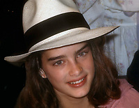 1978 FILE PHOTO<br /> Brooke Shields at Studio 54<br /> Photo by Adam Scull-PHOTOlink.net