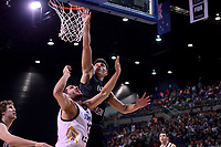 New Zealand Tall Blacks' Reuben Te Rangi in action during the FIBA World Cup Basketball Qualifier - NZ Tall Blacks v Jordan at Horncastle Arena, Christchurch, New Zealand on Thursday 29 November  2018. <br /> Photo by Masanori Udagawa. <br /> www.photowellington.photoshelter.com