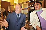 RENZO ARBORE CON CLEMENTE MIMUN<br /> APERTURA STORE FAY A FONTANELLA BORGHESE ROMA 10/2008