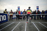 Sven Nys (BEL/Crelan-AAdrinks) has the first pick on the start grid<br /> <br /> Koksijde CX World Cup 2014