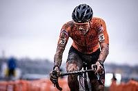 David van der Poel (NED)<br /> <br /> Men's Elite race<br /> UCI 2020 Cyclocross World Championships<br /> Dübendorf / Switzerland<br /> <br /> ©kramon