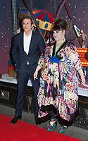 November 8 2017 PARIS FRANCE<br /> Singer Beth Ditto inaugurates the Chritmas<br /> Windows at the Galerie Lafayette store on Avenue Hausmann Paris. Philippe Houze is present. # BETH DITTO INAUGURATION DES DECORATIONS DE NOEL AUX GALERIES LAFAYETTE