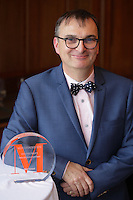Louis Veilleux, CEO, Metal Bernard, Finalist in the MERCURIADES Awards, March 17, 2016.<br /> <br /> Photo : Pierre Roussel - Agence Quebec Presse