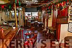 An empty Cearnog Bar on Sunday