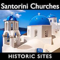 Santorini Churches Pictures,  Rome Italy Photos, Images, fotos