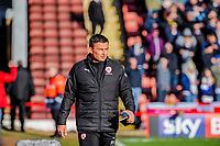 Barnsley's manager Paul Heckingbottom during the Sky Bet Championship match between Barnsley and Leeds United at Oakwell, Barnsley, England on 25 November 2017. Photo by Stephen Buckley / PRiME Media Images.
